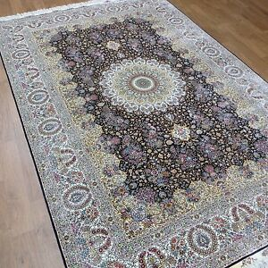Silk Rug Carpet 6'X 9' Detailed Classic