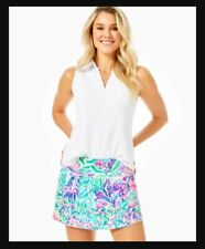 NWT Lilly Pulitzer UPF50+ Luxletic Adlai Skort Lilly's Favorite Things XL RARE
