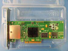 LSI Logic SAS3801E Adapter Controller Card Full Height Profile L3-01123-04E