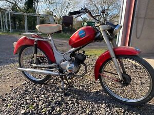 Benelli 50cc pedal start scooter, classic moped, classic motorbike