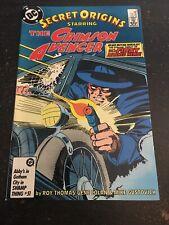 Secret Origins#5 Incredible Condition 9.0(1986) 1st Crimson Avenger