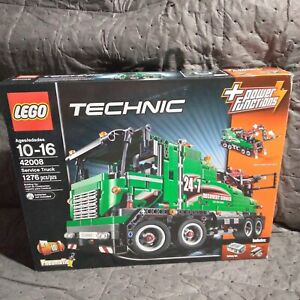 Lego 42008 Recovery Service Truck 100% Complete with box and books. RARE