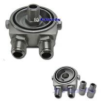 Ölkühler Adapterplatte Anschluss Flansch für Ölkühler Sets Fiat Opel Nissan Neu