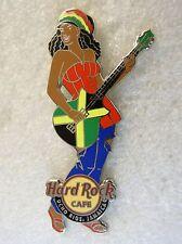 OCHO RIOS,Hard Rock Cafe Pin,Sexy Rocker Girl * Closed Cafe*