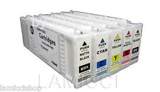 Wide Format Ink 5 Cartridge Set Compatible for Epson SureColor T3000 5000 7000