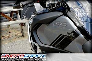 BMW R1250GS Adventure 2021 Triple Black Knee / Gas Tank Gel Paint Protection