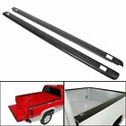 "Black Bed Rail Caps for 1999-2006 Chevy Silverado / GMC Sierra 6'6"" Bed 7201151"