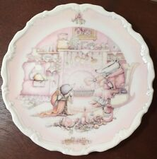 Royal Doulton 'Wind In The Willows Badger's House' Collector Plate 1984