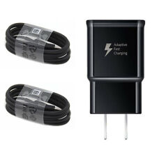 For OEM Samsung Galaxy Note 10 S8 S9 S10 Plus Fast Wall Charger USB Type C Cable