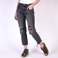 Levi's Wedgie Fit Schwarz grau Damen Jeans DE 38 / US W30