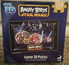 "STAR WARS ""ANGRY BIRDS"" SUPER 3D 150 PC. PUZZLE NIB"