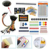 1 Set Breadboard Jumper Wire Electronic Starter Kit For Arduino Raspberry Pi