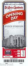 St. Louis Cardinals Busch Stadium Opening Day 2006 Inaugural Season Ticket RARE!