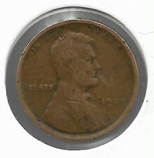 Rare Very Old Antique 1909 US Lincoln Penny Collection Cent Coin 1ST YEAR ISSUE