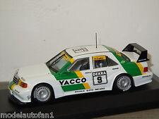 Mercedes 190E Evo2 Team:Snobeck 1 Cudini van Minichamps 1:43 in Box *24560