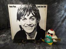 Iggy Pop Lust For Life Rca hard rock Lp Vinyl Album