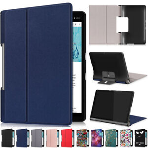 Leather Thin Case Cover Flip Stand For Lenovo Yoga Smart Tab 5 YT-X705F 10.1 in