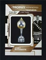 2019-20 UD O-Pee-Chee Trophy Winner Relic #P-P-69 Andy Bathgate - NY Rangers