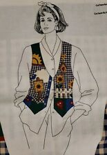 Fabric Panel Dreamspinners For Vip Springtime Vest To Cut And Sew Adult XS - L