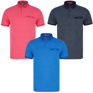 Kensington Eastside Polo Shirt Woven Cotton Casual T-Shirt Top with Chest Pocket