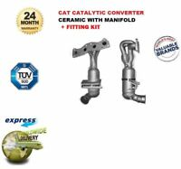 Pour BMW Neuf Mini One Cooper 1.4 1.6 120BHP 2006-- > Pot Catalytique + Kit