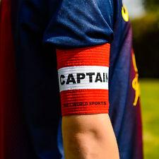 Il CALCIO CAPITANI Bracciale Bianco / Rosso Junior Arm Band [ Net mondo dello sport ]