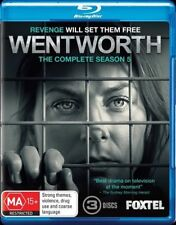 Wentworth : Season 5 Blu-ray - NEW & Sealed -Reg B AUS Bluray
