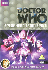 Doctor Who: 3rd Dr Spearhead from Space New but UNSEALED Region 2 John Pertwee