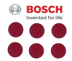 BOSCH Sanding Sheets (6 No/Pack, Grit=120,) (To Fit: Bosch Easy Cut & Grind)