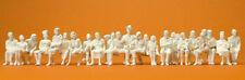 Preiser 65602 sitzende Reisende. 24 Unbemalte Figuren Spur 0
