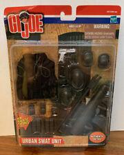 2001 GI Joe - URBAN SWAT SUIT - GEAR WEAPONS New, Sealed
