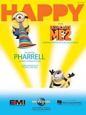 Happy Sheet Music Easy Piano Pharrell Williams NEW 000137757