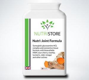 Joint Support Glucosamine MSM Turmeric Vitamin C 60 Capsules