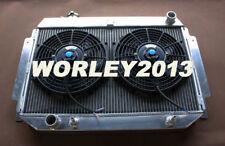 Aluminum radiator + fan for HOLDEN HQ HJ HX HZ 253 & 308 V8 Holden engine