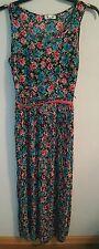 Olsenboye Floral Dress with Belt - Size 7 - NWT