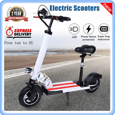 10inch Outdoor Adult Electric Bike Scooter Foldable Mini Walker Scooters UK Plug