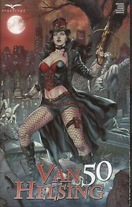 VAN HELSING (LEGACY NUMBER) #50 COVER A VITORINO VF/NM 2021 ZENESCOPE HOHC
