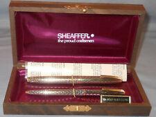 Sheaffer Vintage Imperial Soverign Fountain pen/ball pen set--Diamond Clips-NOS
