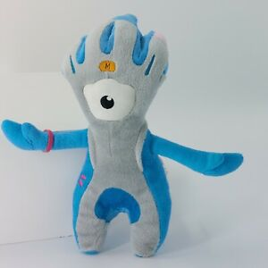 London 2012 Olympics Official Paralympics Mascot 'Mandeville' Plush Soft Toy
