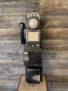 Vintage Northern Electric Payphone 3 Slot Payphone