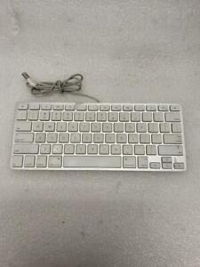 Genuine OEM Original Apple A1242 USB Aluminum Wired Mini White Keyboard emc2159
