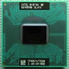 Intel Core 2 Duo T9500 SLAYX 2.6Ghz 6M 800MHz Socket P Mobile CPU Processor