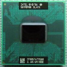 Intel Core 2 Duo T9500 SLAYX 2.6Ghz 6M 800MHz Socket P Mobile CPU Processor