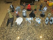 Star Wars Figurines/Diecast ships - 17 Total Figures