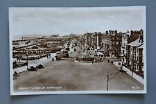 R&L Postcard: Marine Parade Great Yarmouth 1950s, Vintage Motor Cars