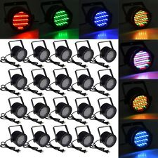 20pcs 86 RGB LED Stage Light Par DMX-512 Lighting Laser Projector Party Club DJ
