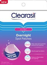 Clearasil Ultra Overnight Spot Patches 18 Each