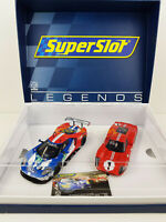 Slot Car Scalextric Superslot H3893A 50 años de Ford Le Mans Edición Limitada