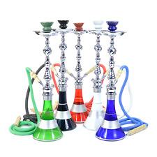"24"" Tall Big Hookah Glass Water Pipe Vase Tobacco Shisha Nargile Smoking Bong"