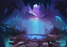 A1   Fantasy Sci-Fi Cave Poster Art Print 60 x 90cm 180gsm Gamer Decor #14029